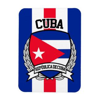 Cuba Rectangular Photo Magnet
