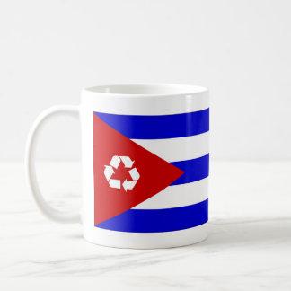 Cuba recycle flag mug
