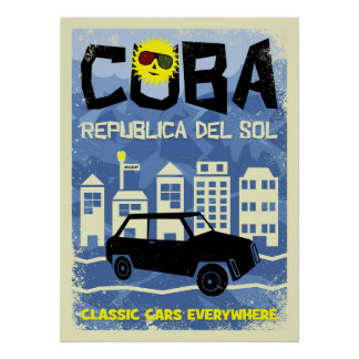 Cuba - Republica del Sol Poster
