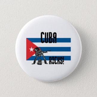 Cuba Rocks 6 Cm Round Badge