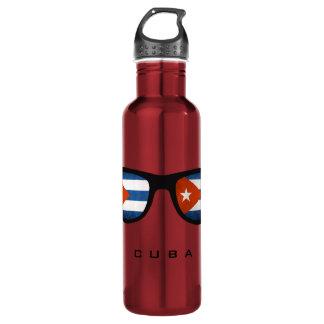 Cuba Shades custom water bottles