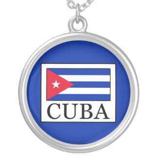 Cuba Silver Plated Necklace
