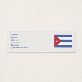 Cuba - Skinny Mini Business Card