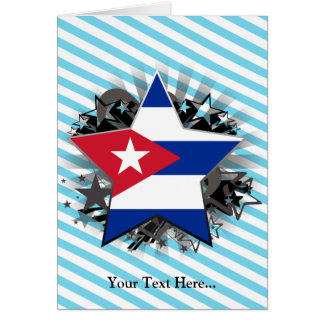 Cuba Star Greeting Card