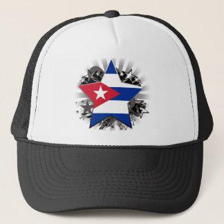 Cuba Star Trucker Hat
