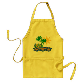 Cuba State of Mind apron - choose style & color