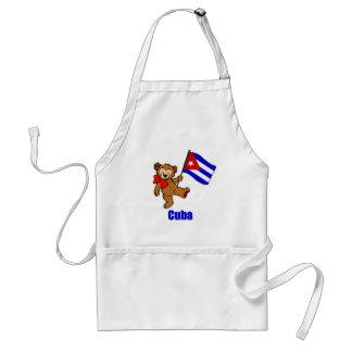 Cuba Teddy Bear Apron