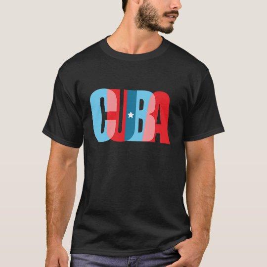CUBA -trendy textual design T-Shirt