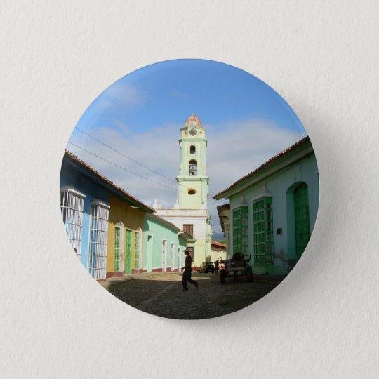 Cuba Trinidad 6 Cm Round Badge