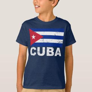 Cuba Vintage Flag T-Shirt
