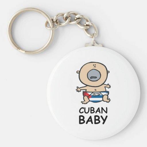 Cuban Baby Key Chains