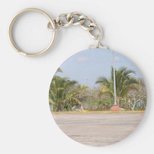 cuban beach keychains