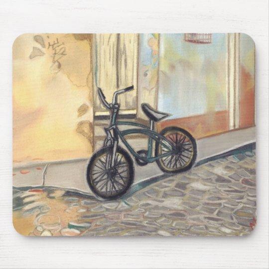 cuban bicycle mouse mat