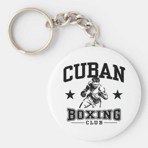 Cuban Boxing Keychains