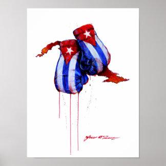 Cuban Boxing Legacy Poster