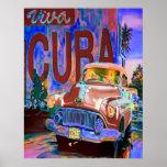 CUBAN BUICK POSTER