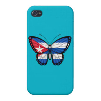 Cuban Butterfly Flag iPhone 4 Case