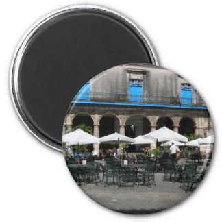 Cuban Cafe 6 Cm Round Magnet