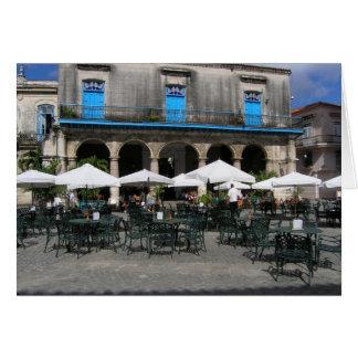 Cuban Cafe Card