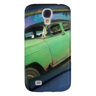 Cuban car reflection galaxy s4 case
