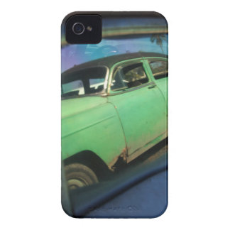 Cuban car reflection iPhone 4 cover
