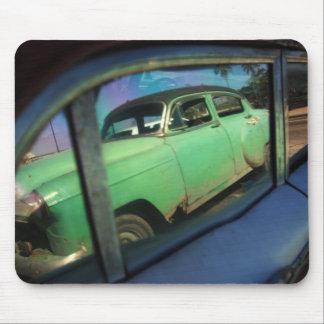 Cuban car reflection mouse mat