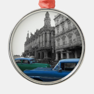 Cuban Cars 1 Christmas Ornament