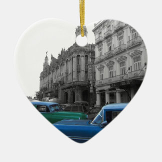 Cuban Cars 1 Christmas Ornament