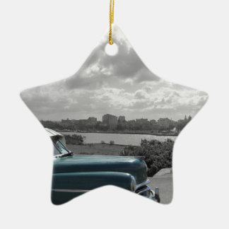 Cuban Cars 2 Christmas Ornament