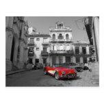Cuban Cars 3 Postcard