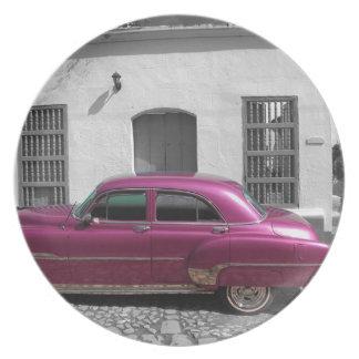 Cuban Cars 4 Plate