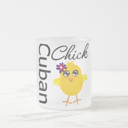 Cuban Chick Coffee Mugs