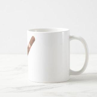 Cuban Cigar Basic White Mug