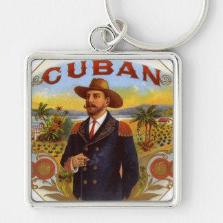 CUBAN CIGAR BOX DESIGN  KEY CHAIN