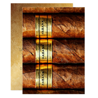 Cuban Cigars Habana Invitation