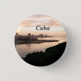 Cuban Cityscape 3 Cm Round Badge