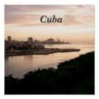 Cuban Cityscape Poster