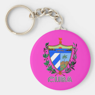Cuban Emblem Keychains
