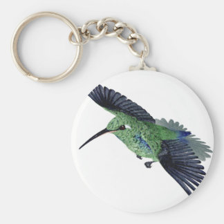 Cuban Emerald Hummingbird Keychains