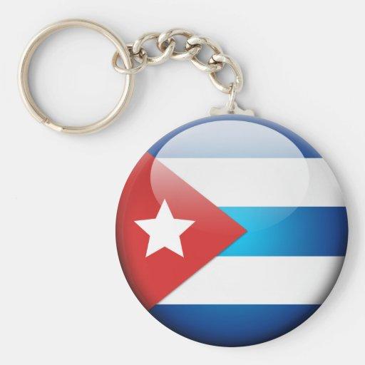 Cuban Flag 2.0 Keychains