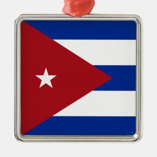 Cuban Flag Christmas Ornament