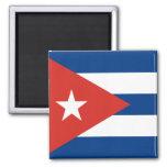 Cuban Flag Fridge Magnet