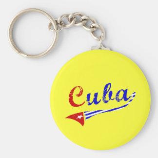 Cuban Flag Key Chains
