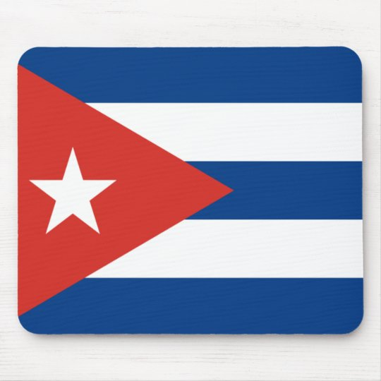 Cuban Flag Mouse Mat