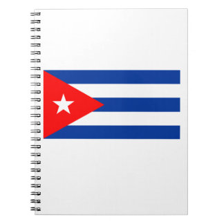 Cuban Flag Notebook