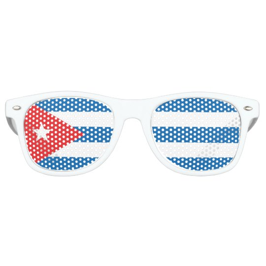 Cuban flag sunglasses