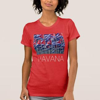 Cuban flags, Havana, Cuba T-Shirt