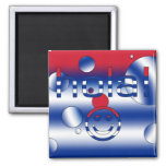 Cuban Gifts : Hello / Hola + Smiley Face Refrigerator Magnets