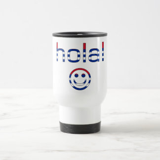 Cuban Gifts : Hello / Hola + Smiley Face Coffee Mugs