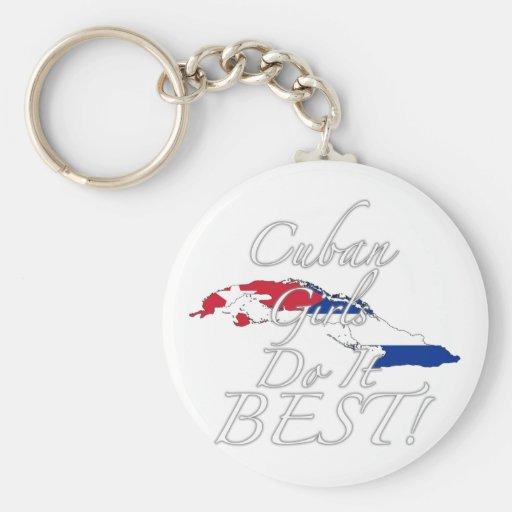 Cuban Girls Do It Best! Key Chain